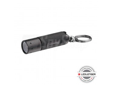 Key ring torch Ledlenser K2 with efficient power supply and solid construction