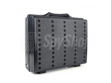 White noise machine CASE ULTRA-05 for Protection of classified information during negotiations