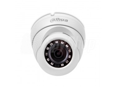 Analog CCTV camera DAHUA HAC-HDW1220MP-0280B for indoor and outdoor monitoring with IR illuminator
