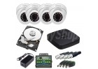 CCTV camera system Dahua HDCVI 0280B-04 for indoor and outdoor 24/7 monitoring