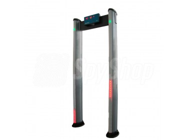 Metal detector gate SecurScan Sy-603 with 16 detection zones and simple operation
