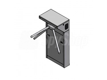 Security turnstile SecurSCAN TL-Pass for access controlling with LED alarms with remote control