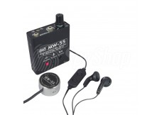 Wall listening device MW-55 with a stethoscope and a built-in memory for discreet listening through walls
