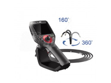 Borescope camera Coantec C40 with a probe resistant to liquids, greases and oils