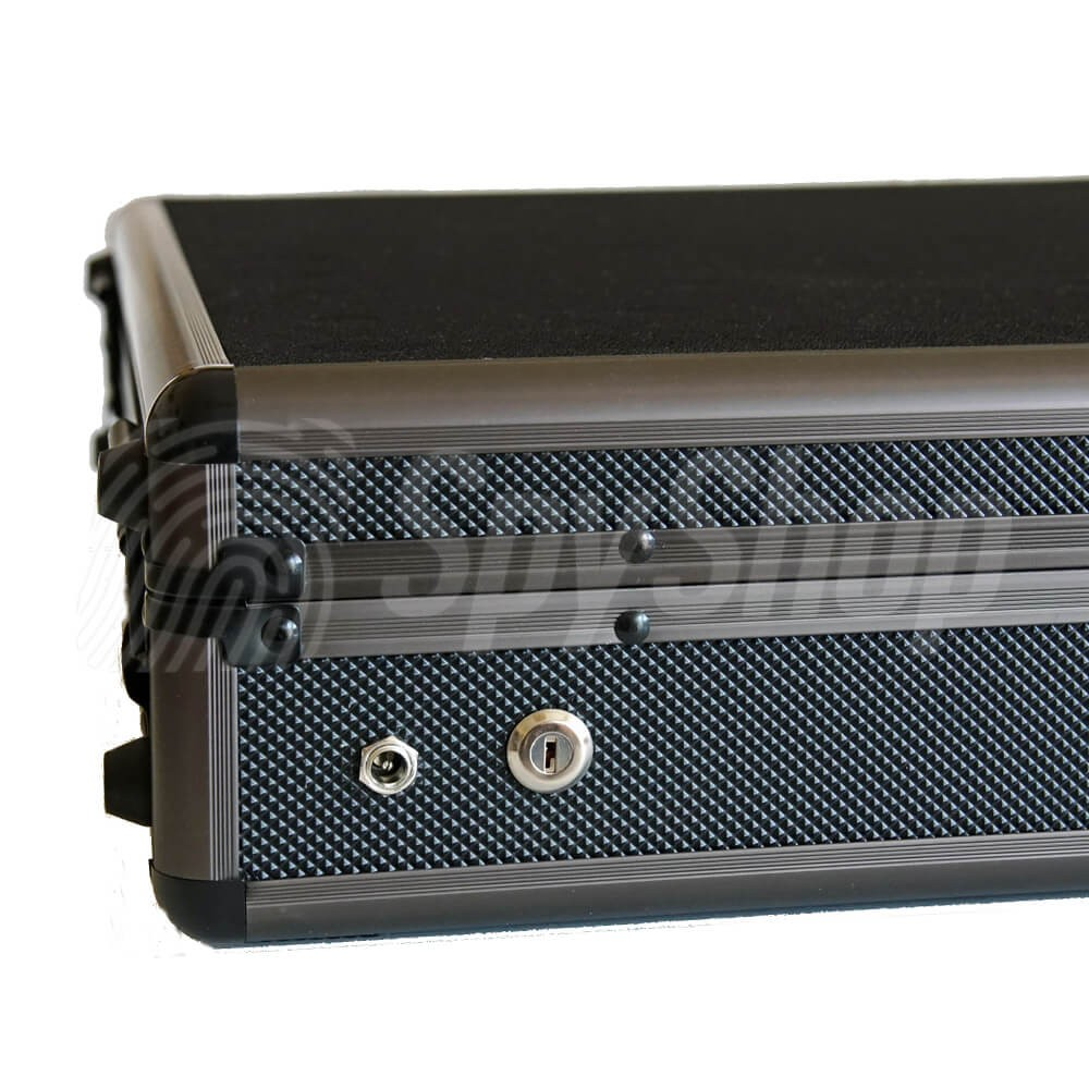 Infratornado audio jammer from Selcom for jamming of