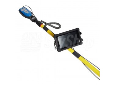 Xtender pole for extending the reach of the Xpose density meter contraband detector