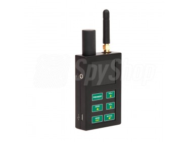 Bug detector scanner ST-111 – detection of broadband transmissions like GSM networks, wiretaps, Wifi, Bluetooth