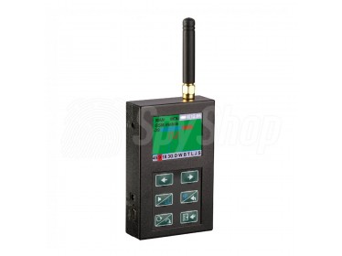 Radio frequency detector WiFi - ST-167 - detection of bugs, hidden cameras, mobile phones and WiFi