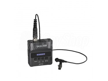 Lavalier Tascam DR-10L high quality digital audio recorder