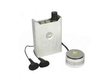 FL-330 Stethoscope wall contact microphone with needle-less microphone sensitive to human voice