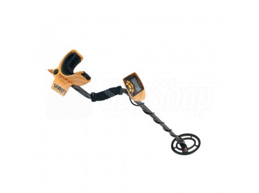 Garrett Ace 250 accurate metal detector for treasure hunters with 8 levels of sensitivity adjustment