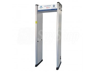 Gate metal detector UB500-T with temperature measurement function