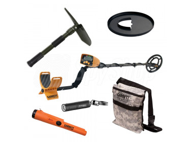 Ultimate OUTDOOR Treasure Hunting KIT  - Garrett Ace 200i / Garrett Pro Pointer AT / Additional accessories