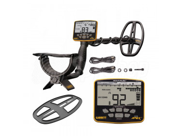 Garrett Ace Apex – professional metal detector with waterproof coil and Multi-Frequency Technology