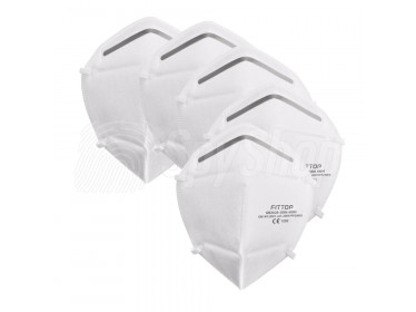 N95 mask - protection against COVID-19, dust and smog