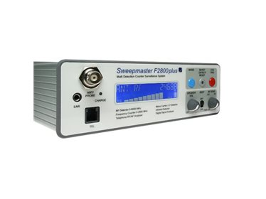 Professional counter surveillance system - Sweepmaster F2800 Plus