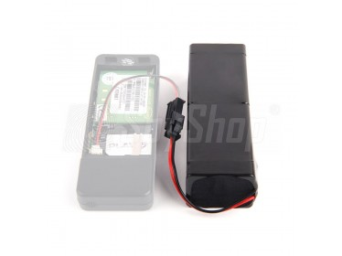 11500mAh rechargeable external battery for the Guardian II GPS