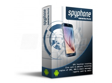 Phone spy software - SpyPhone Android Rec Pro for phone surveillance