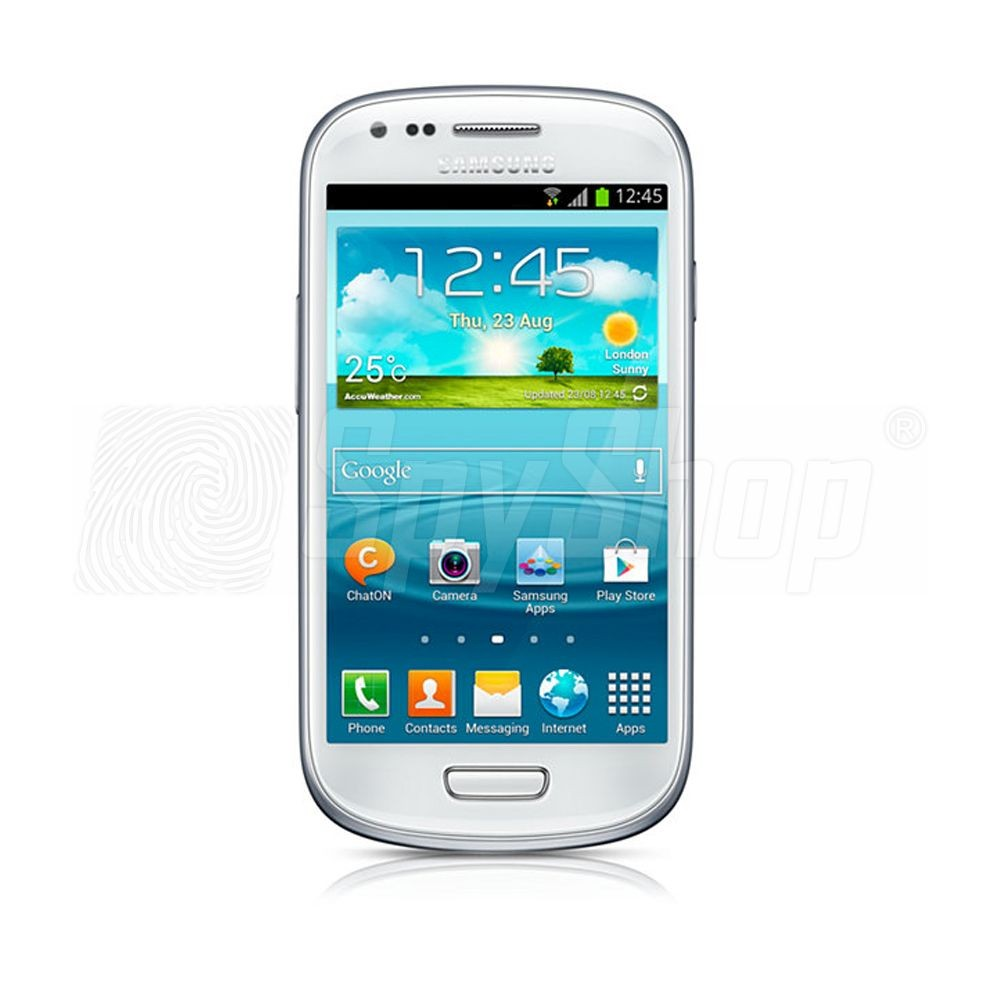 samsung galaxy s3 mini with spyphone rec pro gsm surveillance software. Black Bedroom Furniture Sets. Home Design Ideas