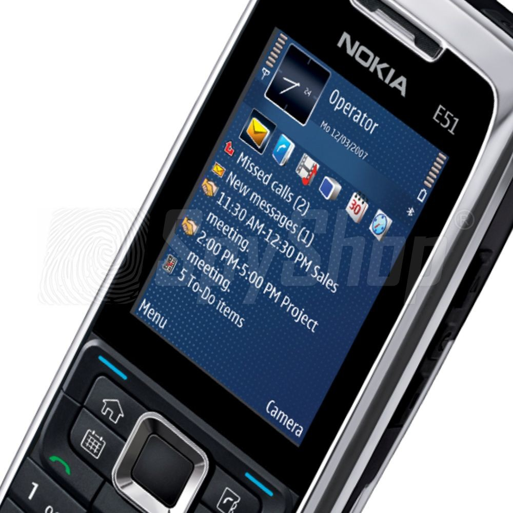 Classic Nokia E51 Phone With Spyphone 7in1 Pro