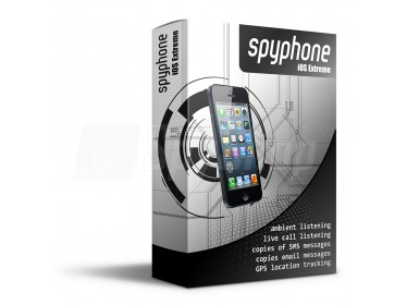iPhone tracker - SpyPhone iOS Extreme for locating and monitoring of your iPhone with a 1 year licence