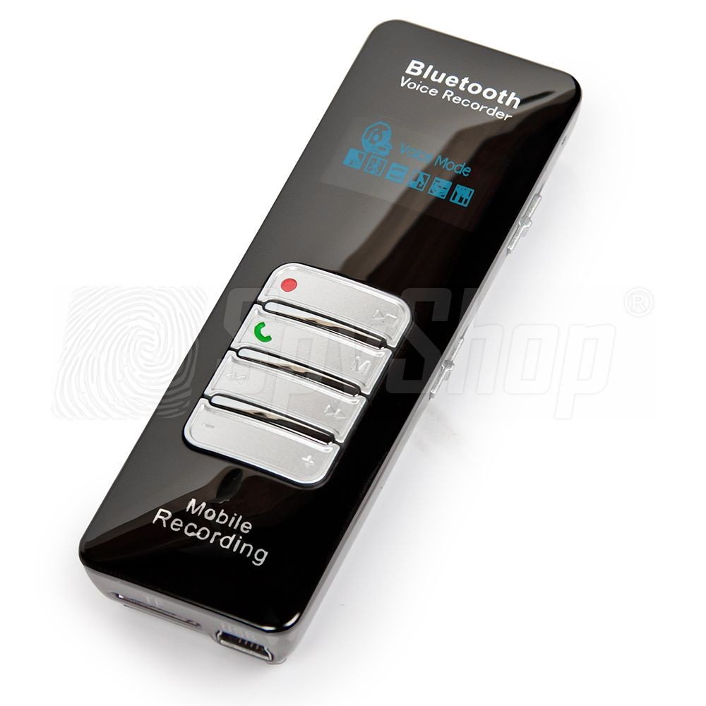 Digital Voice Recorder Dvr 188 With Bluetooth 174 Remote