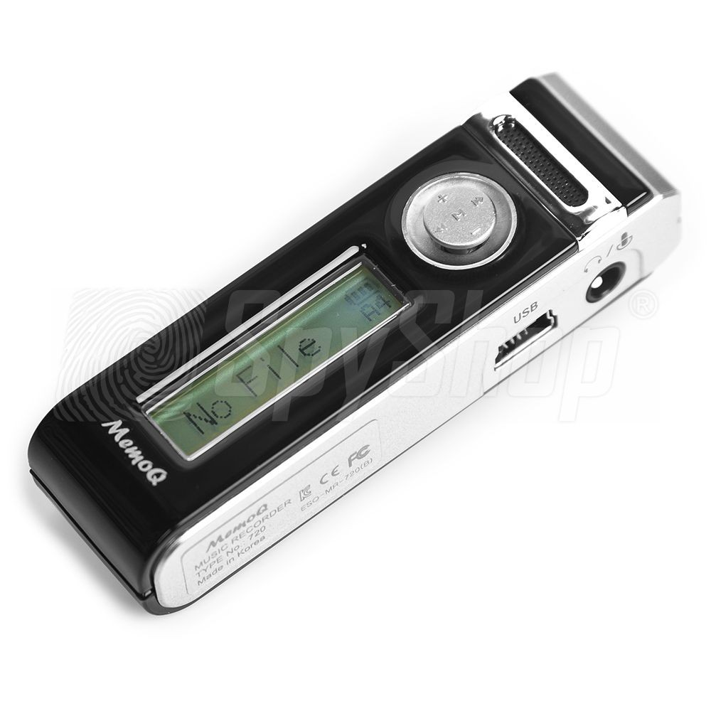Esonic Memoq Mr 720 Universal Digital Voice Recorder