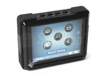 "MP-600HD 3.5""waterproof digital video recorder  with display unit"