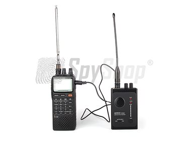 Aceco FC-3002 and ICOM IC-R20 wiretaps detecting and locating set