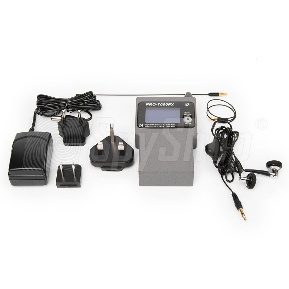 Pro7000fx Digital Bug Sweeper For Counter Surveillance