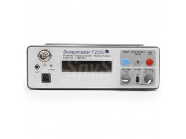 SweepMaster F2560 - Professional counter surveillance system