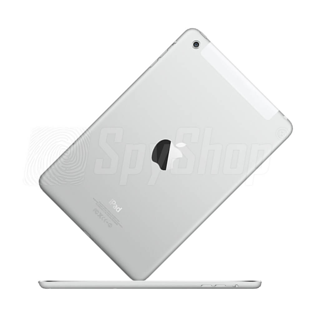 Discreet Ambient Wiretapping And Monitoring Of A Tablet Ipad Mini 1 Wifi Cellular 16gb White 2 32gb