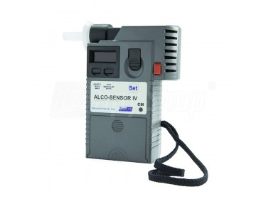 Breath alcohol tester - Alco-Sensor IV CM with electrochemical sensor for the police