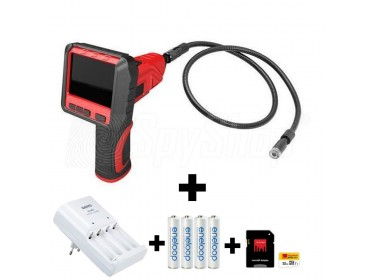 PP-8833FB - technical kit with fiber optic camera GosCam