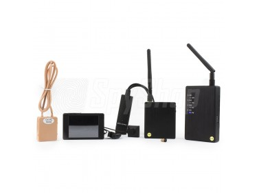 BTR-001 Pro camera set for exams with micro-earphone and recorder set for exams