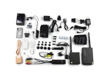 Bluetooth spy camera BTR-001 Pro+ set for exams with a camera and an earpiece for discreet wireless communication