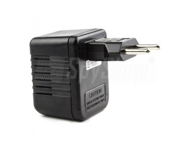 UK-type AC adapter hidden camera - Lawmate PV-AC10FHD