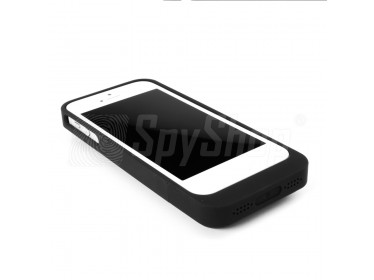iPhone camera case Lawmate PV-IP45 with LED indicator and HD resolution for discreet recording
