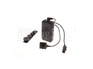 Miniature set PVU-18 for discreet meetings recording PV-50U + CM-BU18