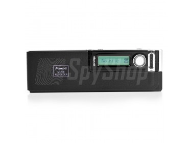 Digital voice recorder - Esonic MemoQ MR-740 with LCD display and sensitive microphone