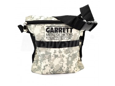 Durable shoulder bag for storage of the artifacts by Garrett