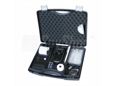 Transport suitcase for breathalyzer Drager 6820 and wireless printer