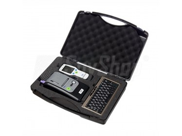 Carrying case for breathalyser Dräger 7510, printer and accessories