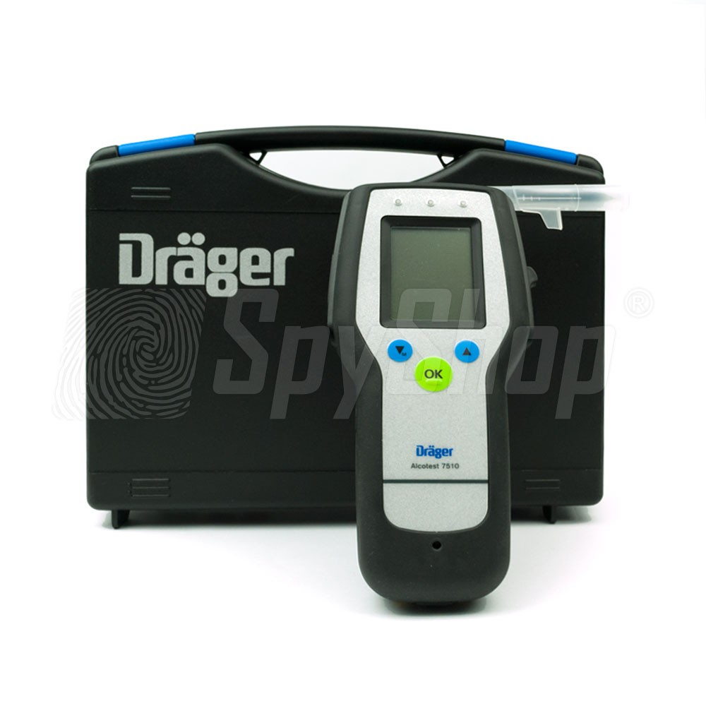 Dr 228 Ger Alcotest 7510 Police Alcohol Breath Tester