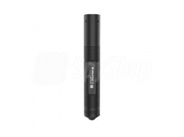 Tactical flashlight Ledlenser P2 with light adjustment function