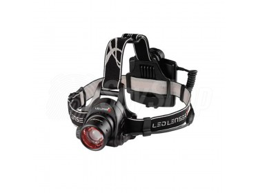 Ledlenser H14R.2 - professional LED head lamp for alpinists and outdoor sports enthusiasts