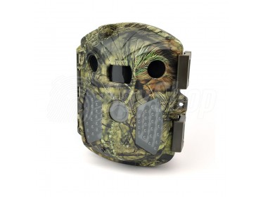 Wireless trail camera Covert Outlook with free configuration and IR illuminator for outdoor monitoring