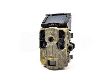 Wireless wildlife camera SpyPoint Solar with solar panel and free configuration
