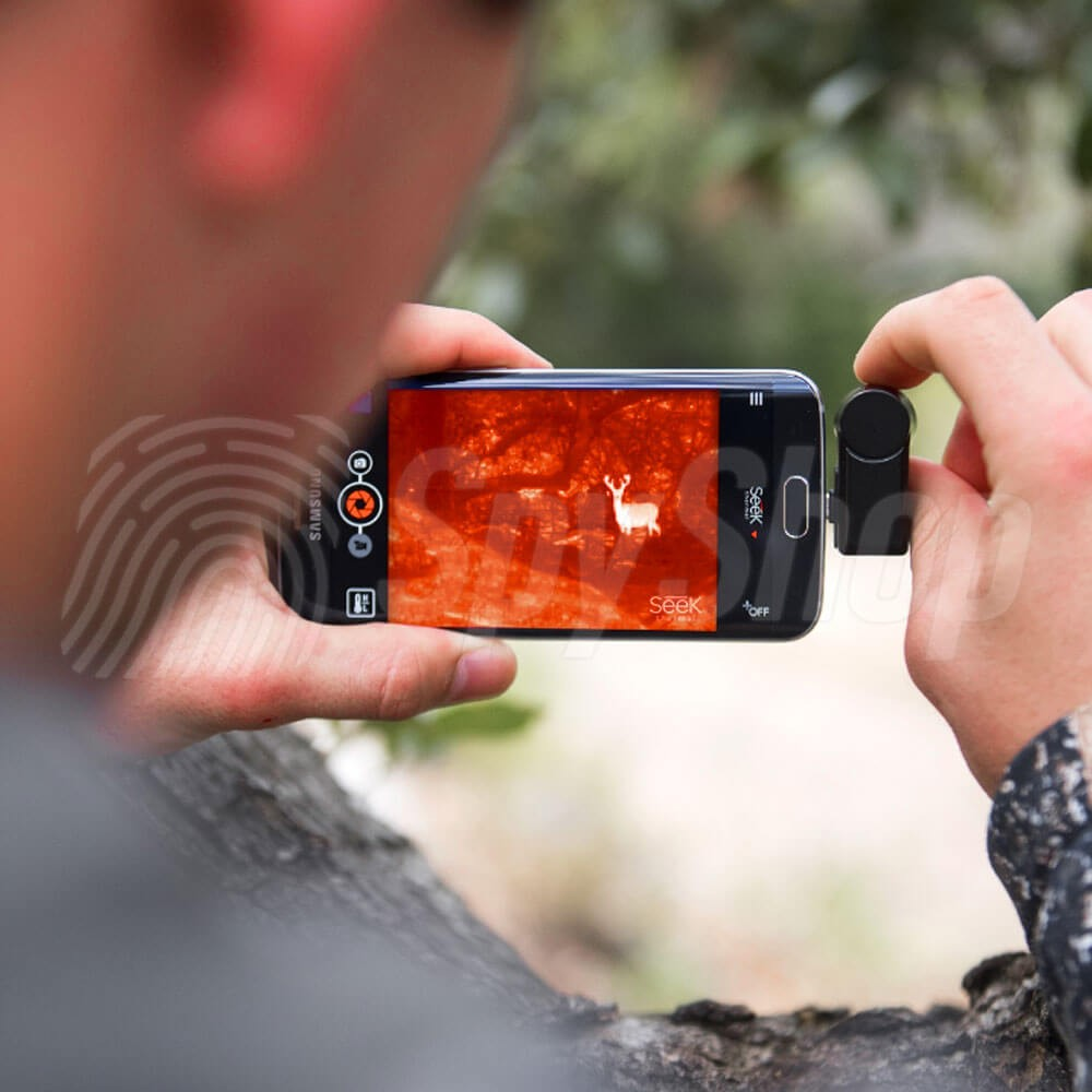 Long Range Small Thermal Imaging Camera For A Smartphone