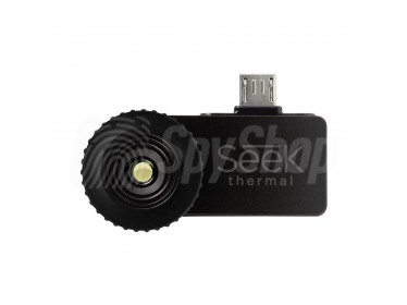 Seek Thermal Compact – Thermal camera dedicated for your smartphone with waterproof carrying case